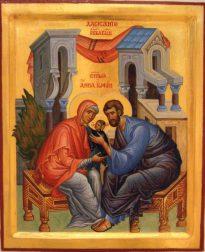 св.праведные Иоаким и Анна